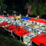 Luang Prabang Night Market, Laos Tour Packages