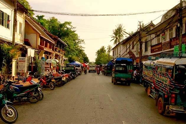 Luang Prabang town, Laos itinerary