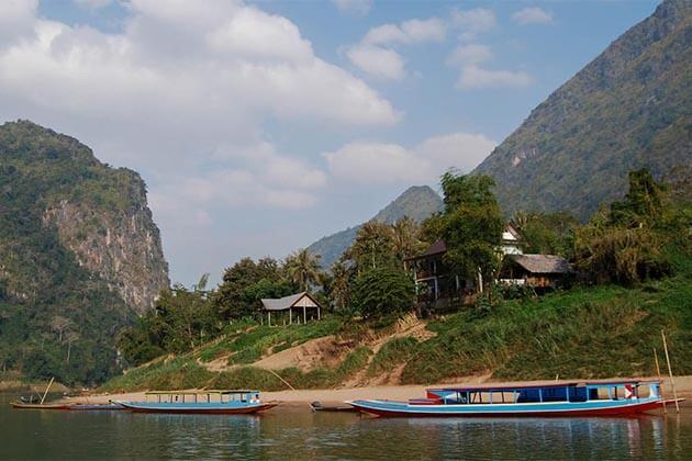 Mekong-River-in-Laos, Trip in Laos