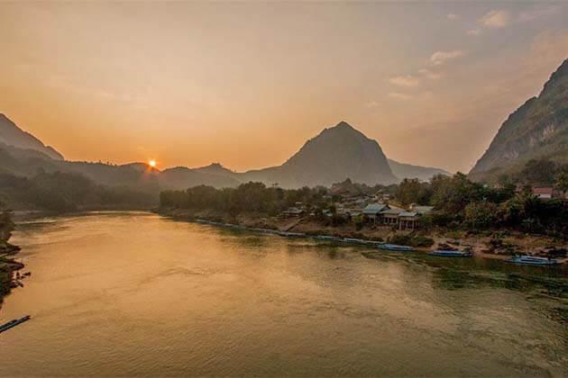 Nam Ou River, Luang Prabang tour