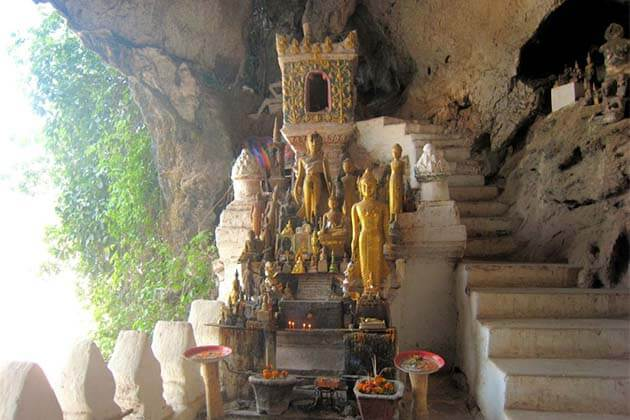 Pak Ou Cave, Laos family packages