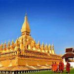Pha that Luang Vientiane, Laos tour