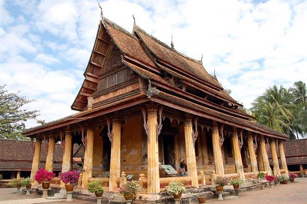 Wat-Si-Saket, Laos vacation