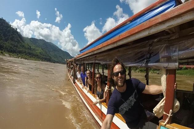 Boat in Luang Prabang Tours
