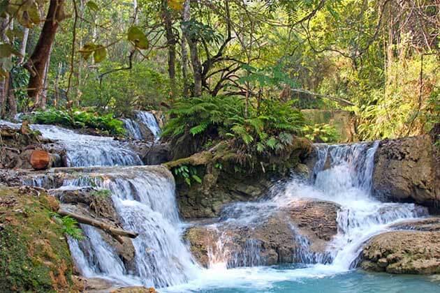 Kuangsi Waterfalls - Laos holidays