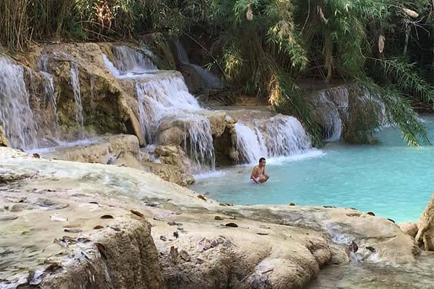 Kuang Si waterfall, Laos trips