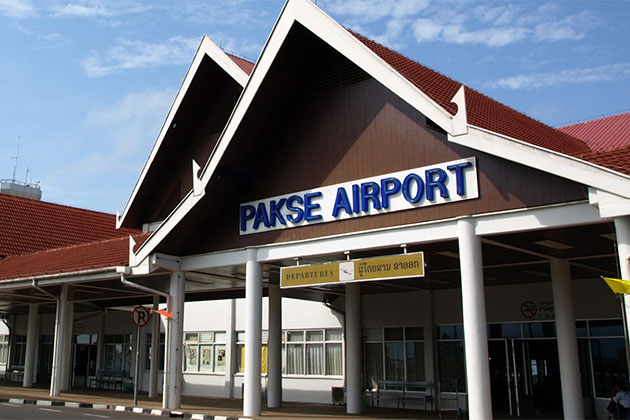 pakse international airport, Laos tours