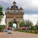 patuxai monument, Vientiane tour