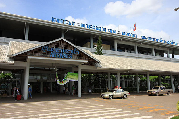 vientiane international Airport, Laos tour