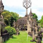 Buddha Park in Vientiane, Family tours in Laos