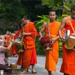 morning almsgiving, Vientiane tour packages