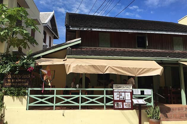 Tamarind restaurant, Top restaurant in Laos, Laos tours