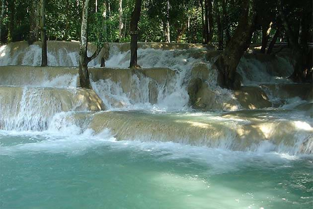 Tad Sae Waterfall, Laos Travel