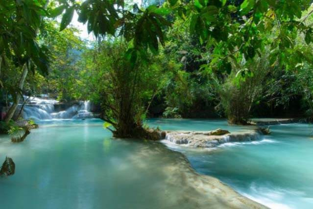 Kuang Si Waterfall, Laos Packages