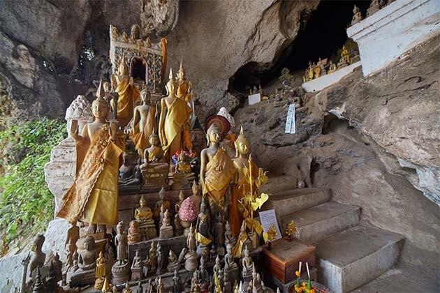 Pak Ou Caves, Laos Trips