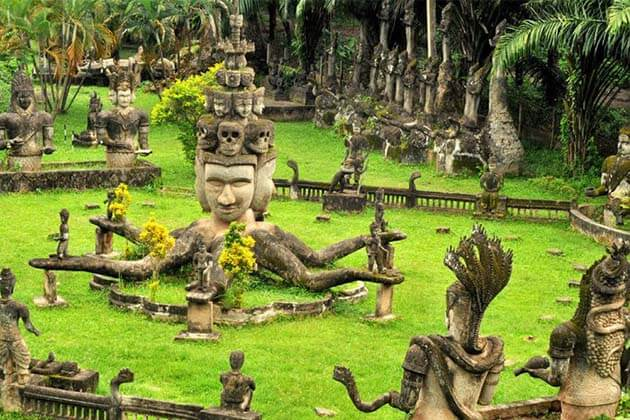 Buddha Park, Laos Adventure Travel Packages