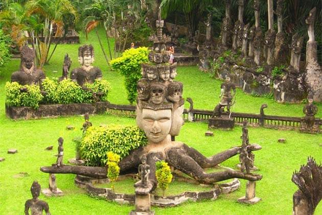 Buddha park in Vientiane, Laos Family Tour Packages