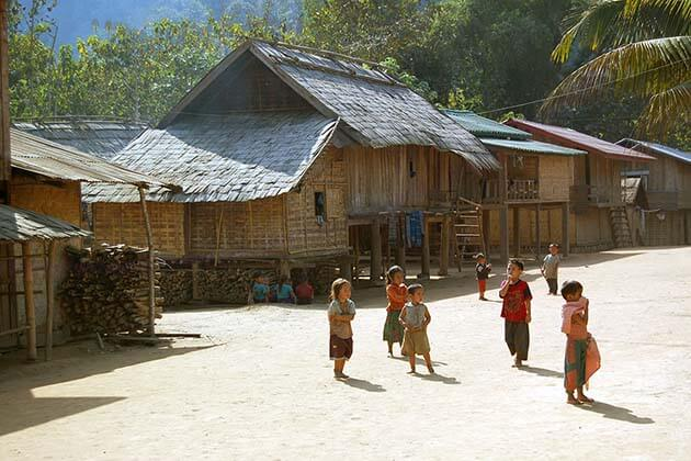 Laos villages, Laos Family tour packages
