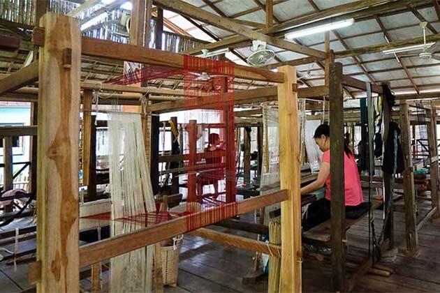 Ock Pop Tock Living Craft Center, Laos adventure packages