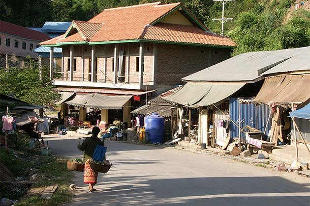 Pak beng, Laos Cruise trip