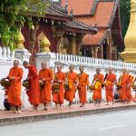 Alm Giving Ceremony in Laos, Vientiane Tours