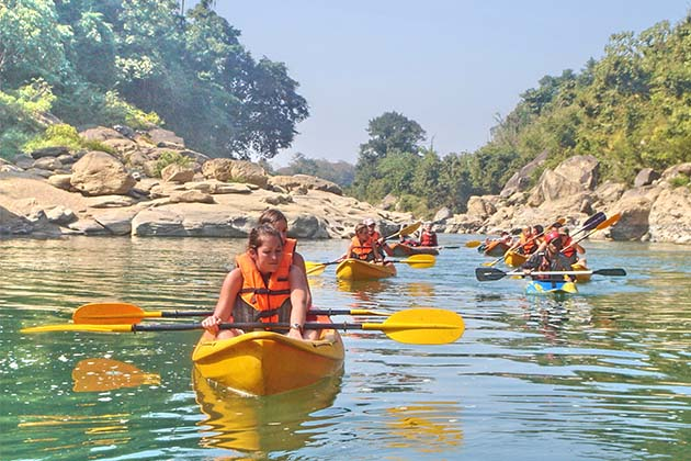 Kayaking in Vientiane, Vientiane Tour Packages