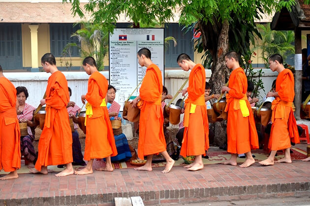 Laotian Believe in Buddhism & Its Massage of Peace