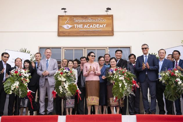 "Vang Vieng Welcome the Appearance of ""The Academy Training Hotel & Restaurant"""